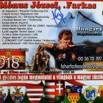 Mónus József, a Farkas Miháldon lő 2021.08.14-én